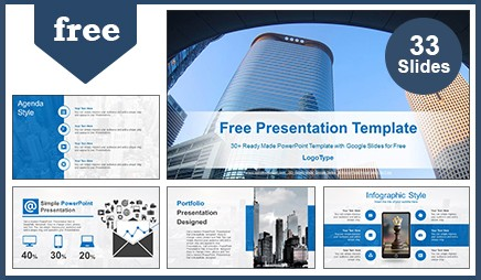 free real estate google slides presentation & powerpoint templates, Modern powerpoint