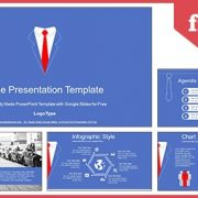 Businessman Tie Concept Google Slides PowerPoint Presentation