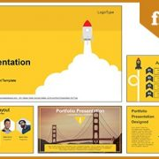 Launch Space Rocket Google Slides-PowerPoint Presentation