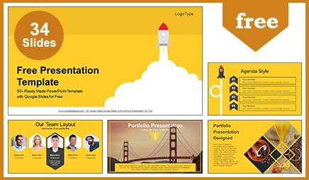 Launch space rocket google slides powerpoint presentation wajeb