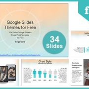 Watercolor Painted Google Slides & PowerPoint Template