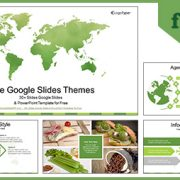 World Map-Business Google Slides Theme