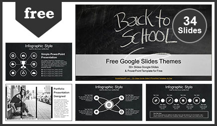 Back to School Education Google Slides Themes