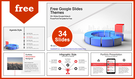 Leadership Concept Business  Google Slides & PowerPoint Template